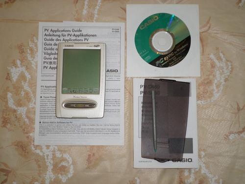 pocket viewer casio tipo palm