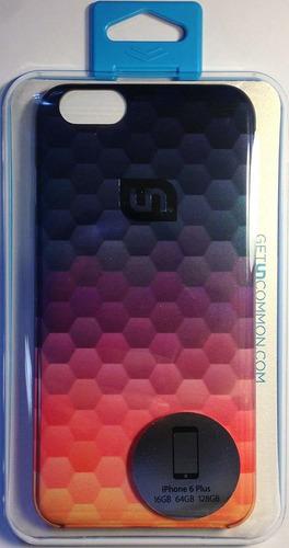 poco frecuentes claro deflector caja degada para iphone 6 pl