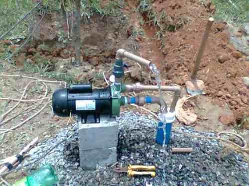 poço semi artesiano - perfuramos rochas