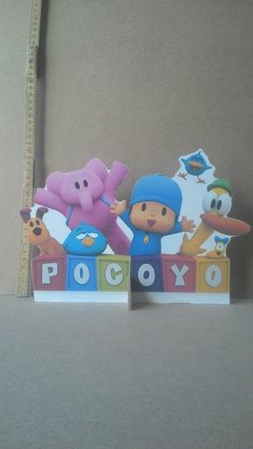 pocoyo - 10 displays de mesa,