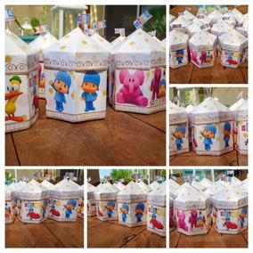 d249590ab Caja Sorpresa Pocoyo - Souvenirs para Cumpleaños Infantiles Bolsitas ...