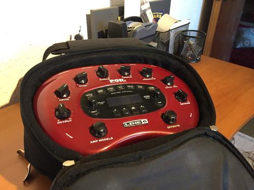 pod xt full sonidos + controlador fbv mkii + bolso original