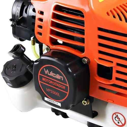 podador a gasolina 33cc 1,3hp 10.000rpm vp 3300l - vulcan