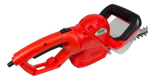podador de cerca viva garthen pcv-6200 620w mono vermelha