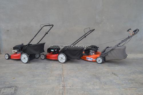 podadora cortadora zacate pasto traccion bolsa trasera