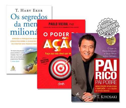 poder da ação segredos mente milionária pai rico pai pobre