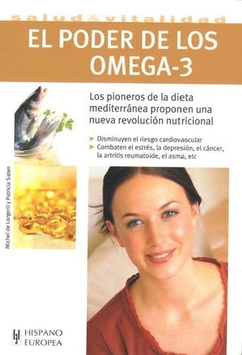 poder de los omega 3, michel de lorgeril, hispano europea