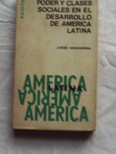 poder y clases sociales en el desarrollo de america latina