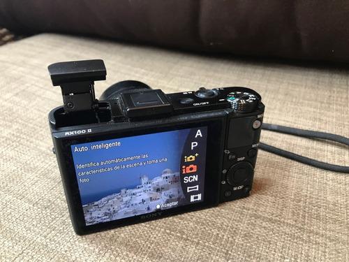 poderosa camara compacta premium sony rx100m2 ii mkii wifi