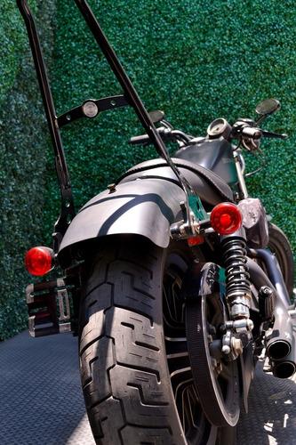 poderosa harley davidson sportster iron 883 con accesorios