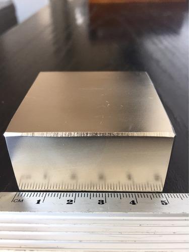 poderoso imã neodímio n52-50,8x50,8x25,4+forte que o n50