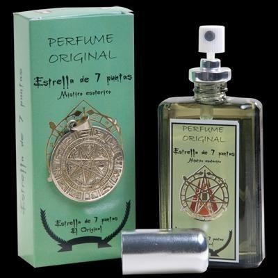 poderoso perfume y talismán estrella 7 puntas directo d cuba