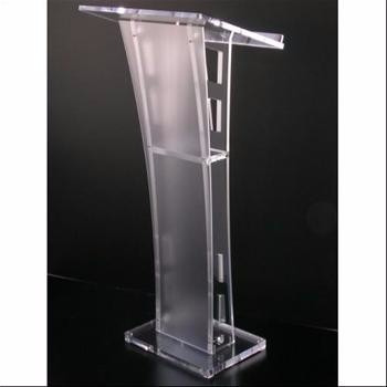 podium en acrilico