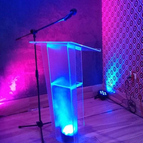 podium en acrilico para eventos
