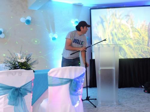 podium ideales para casamiento, inaguraciones y conferencias