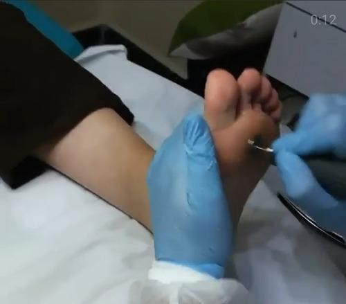 podologa - enfermera hab. msp. serv. de podologia/enfermería