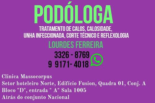podóloga, serviço em podologia, calosidade, calos, corte tec