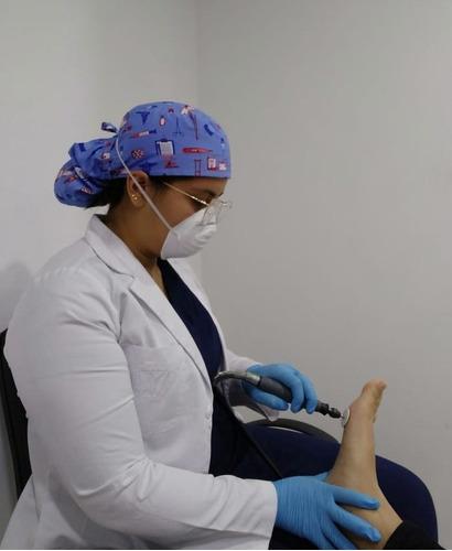 podología o quiropedia a domicilio - pedicura médico