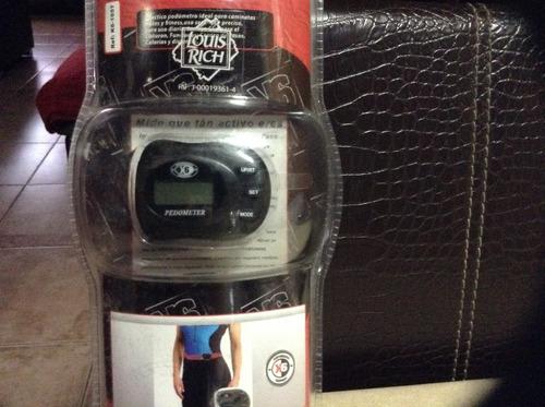 podómetro para medir distancia recorrida