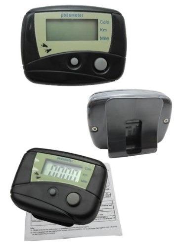 podometro pedometro para contar distancia, calorias y pasos.
