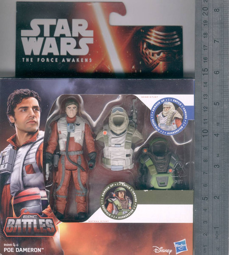 poe dameron star wars the force awakens hasbro 2016