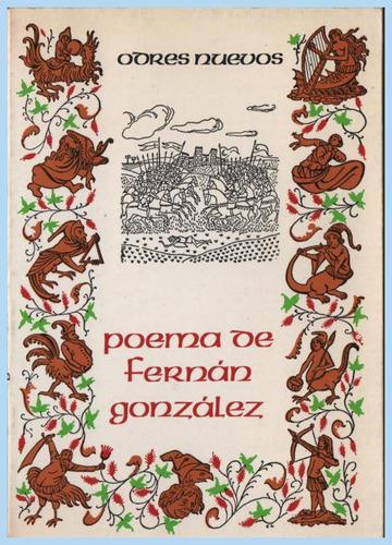 poema de fernán gonzález    -     anónimo.