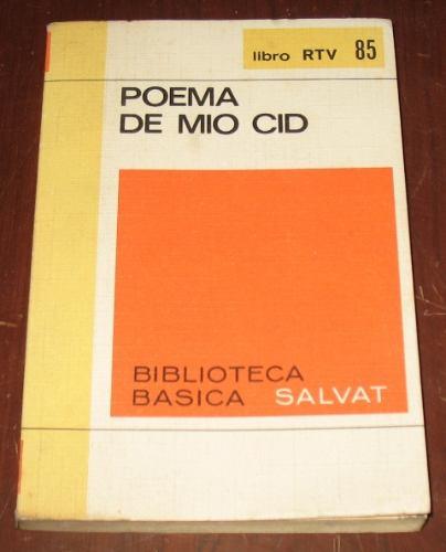 poema de mio cid - salvat rtv literatura española