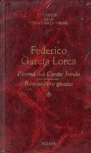 poema del cante jondo / romancero gitano - garcía lorca