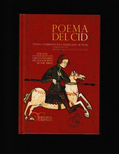 poema del cid (libro pasta dura) - anónimo