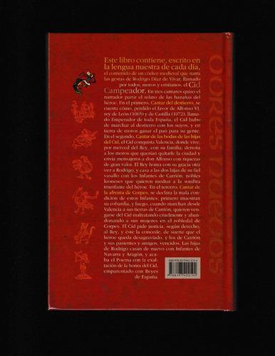 poema del cid (libro pasta dura) - anónimo - envío gratis