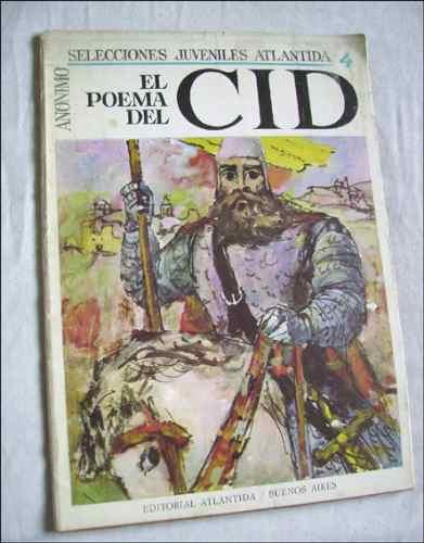 poema del cid _ version de ricardo baeza - ilustrado