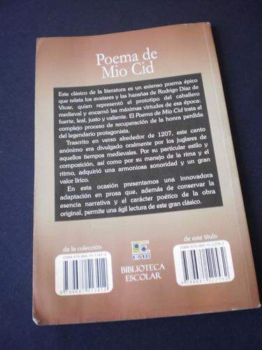 poema del mio cid - biblioteca escolar