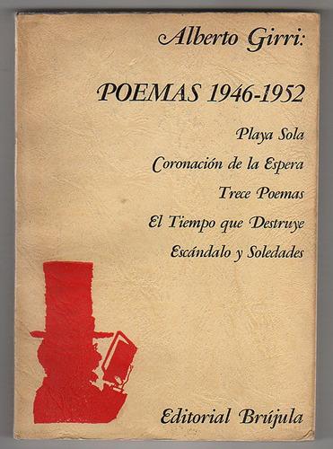 poemas 1946-1952, alberto girri