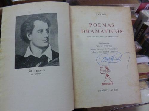 poemas dramàticos, byron