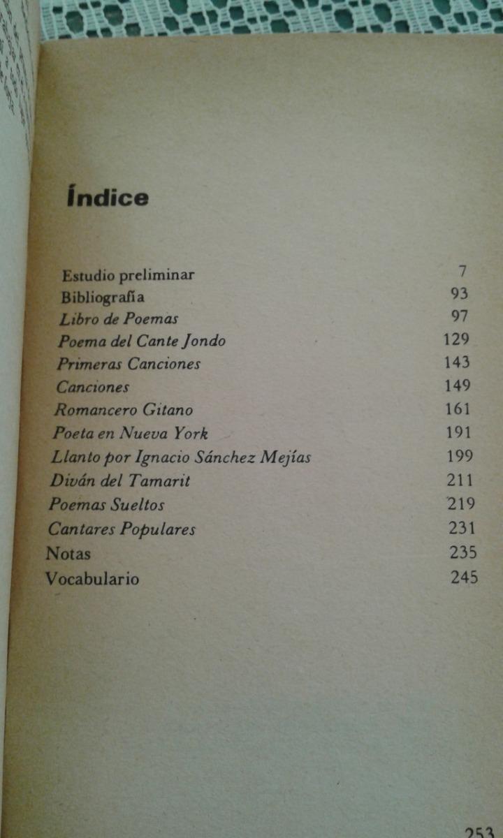 Poemas Federico Garcia Lorca Editorial Huemul 9600