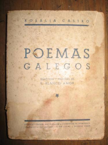 poemas gallegos - rosalia castro - edicion centenario rosali