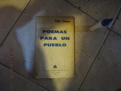 poemas para un pueblo - pedro shimose