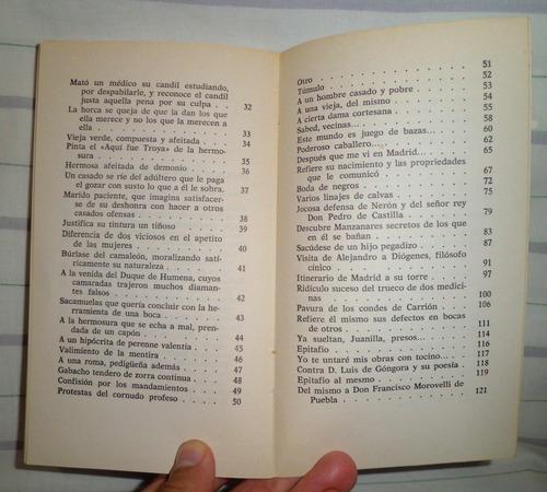 poemas satiricos y burlescos - francisco de quevedo