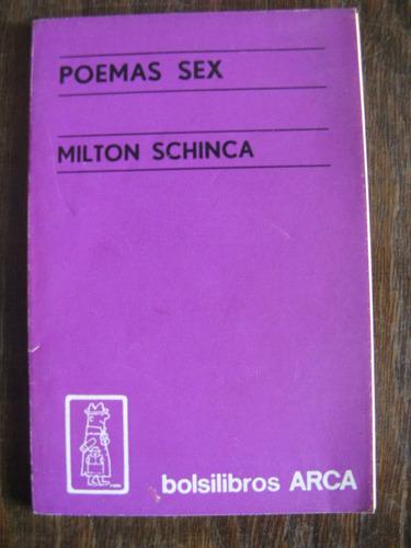 poemas sex. milton schinca