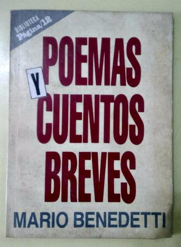poemas y cuentos breves  mario benedetti