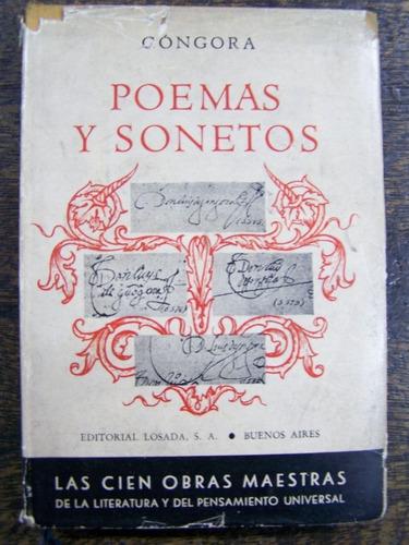 poemas y sonetos - góngora