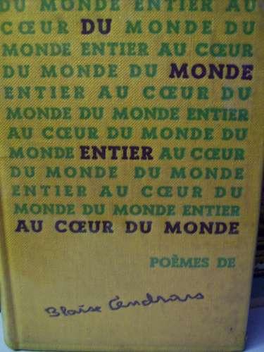 poèmes de blaise cendrars edition definitive 1957