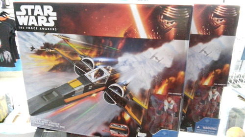 poe's dameron x-wing hasbro star wars.