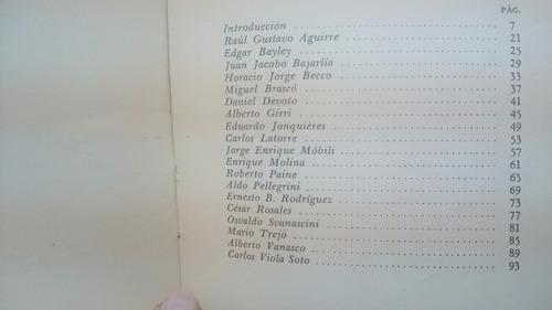 poesía argentina moderna - becco, svanascini