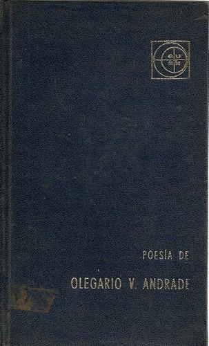 poesia de olegario v. andrade - editorial eudeba