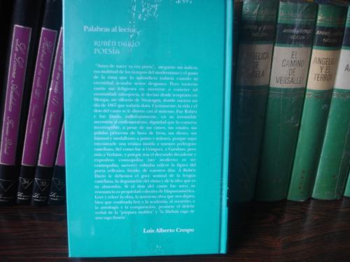 poesia de ruben dario clasicos de el nacional nuevo