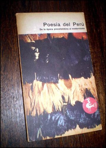 poesia del peru / de la epoca precolombina al modernismo