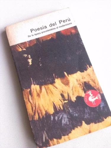poesía del peru epoca precolombina al modernismo literatura