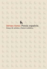 poesia española(libro poesía)