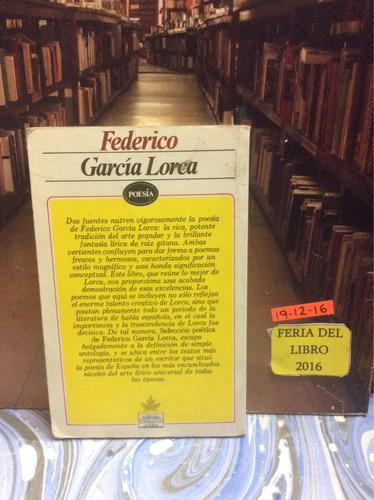 poesía - federico garcía lorca - editores mexicanos unidos.
